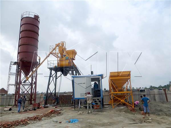 HZS35 мини завод по производству цемента