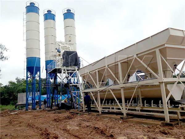 HZS50 цементобетонный завод