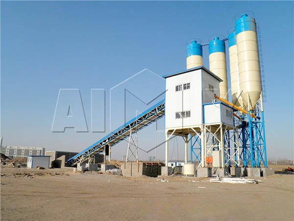 HZS90 завод для производства цемента