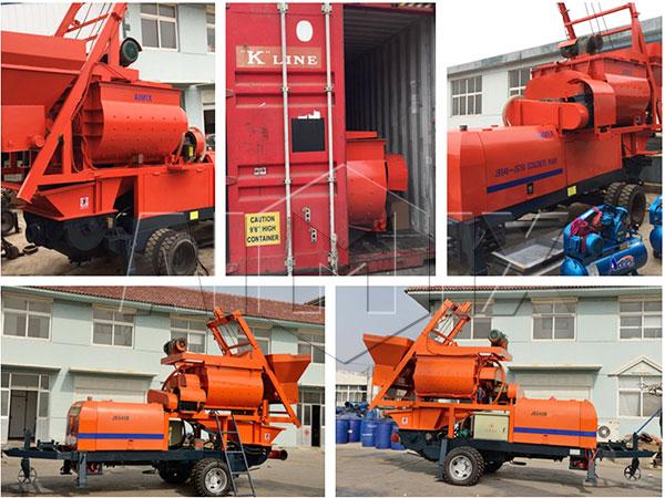 JBS40-JS750 был отправлен в Филиппины