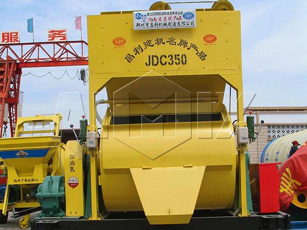 JDC350 одновальный бетоносмеситель