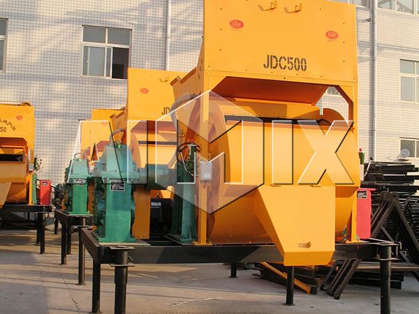 JDC500 одновальная бетономешалка