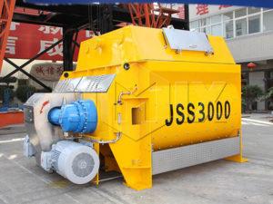JSS3000горизонтальные бетоносмесители купить