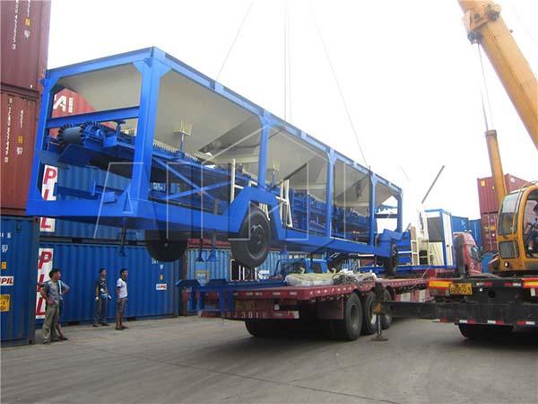 Мобильный Барабанный Асфальтобетонный Завод был отправлен в Парагвай