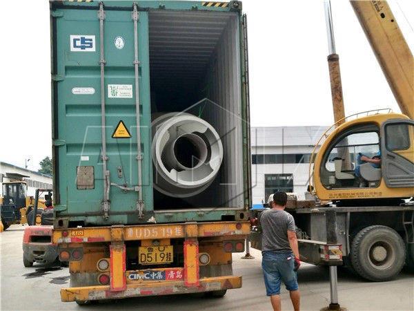 Самозагружающийся бетоносмеситель был готов в Россию