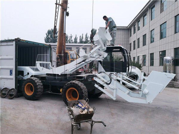 наша загрузка бетономешалки объемом 3.5 м3 будет доставлен в Уганду