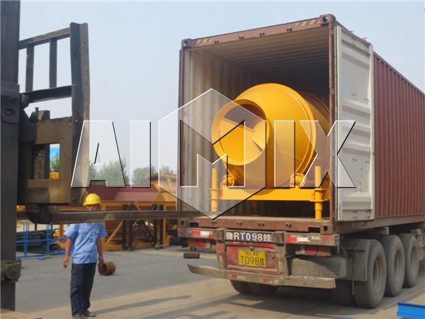 барабанный бетоносмеситель AIMIX был экспортирован в Австралию