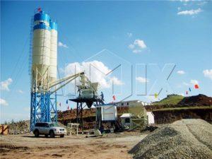 бетонный завод центрального смешивания