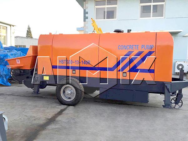 бетононасос дизельный AIMIX