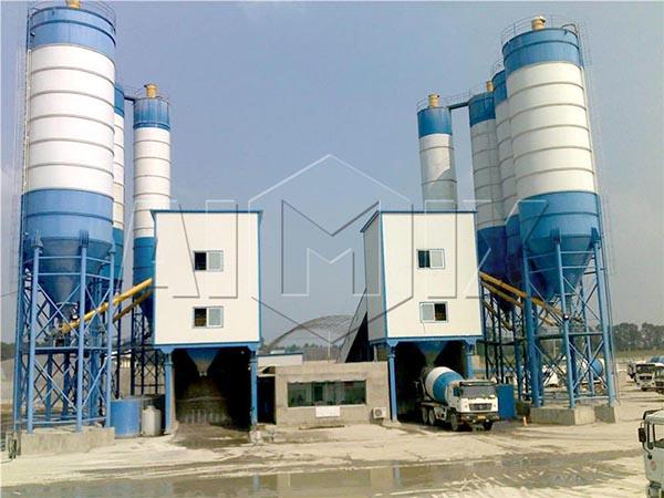 Модульные бетоносмесительные установки