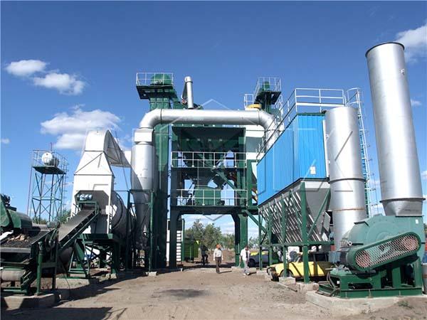 стационарный асфальтобетонный завод в Казахстане