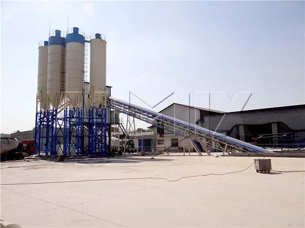 завод готового бетонного смеси