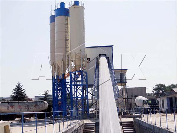 заводы для смешивания готовой бетонной смеси