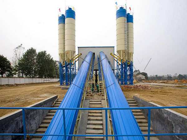бетонные заводы китая 2HZS120