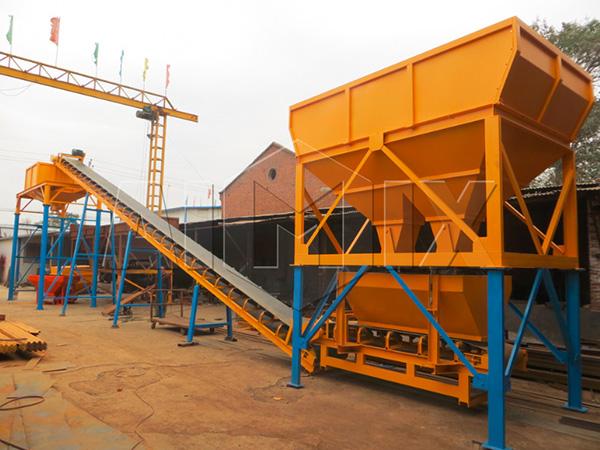 сухой бетонный завод в китае