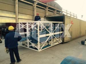 AIMIX HZS60 бетонный завод успешно экспортируется в Шри-Ланку