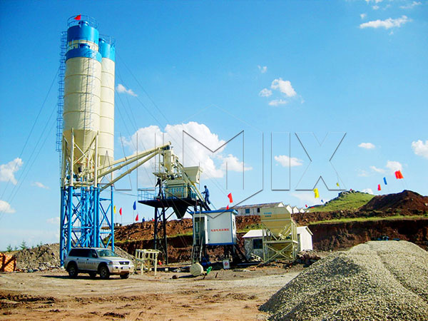 AIMIX бетонный завод цена