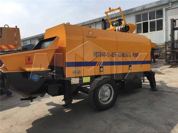 HBTS40-12-82R дизельный бетононасос