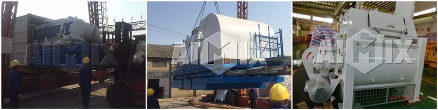 HZS60 бетоносмесительный завод на транспорте в Шри-Ланку