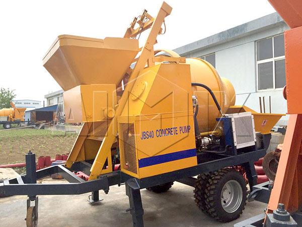 JBS40 миксер с бетононасосом цена