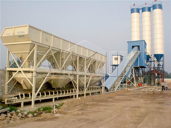 Крупнейший бетонный завод