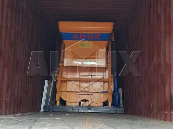 Мини бетонный завод был отправлен в Узбекистан