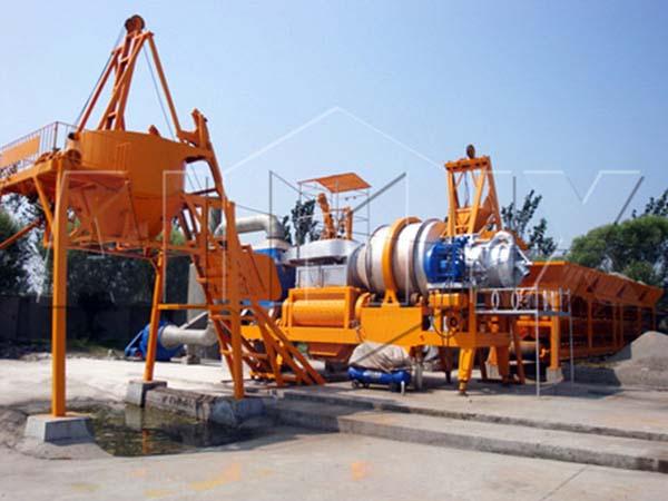 QLB40 асфальтосмесительная установка
