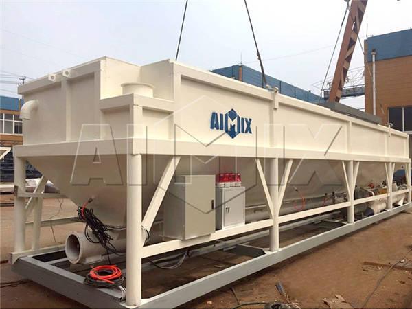AIMIX экспортировалась горизонтальный цементный силос в Австралии