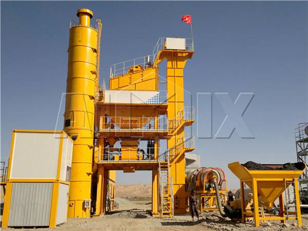 асфальтосмесительная установка в Кыргызстане