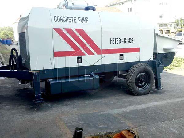 бетононасос дизельный