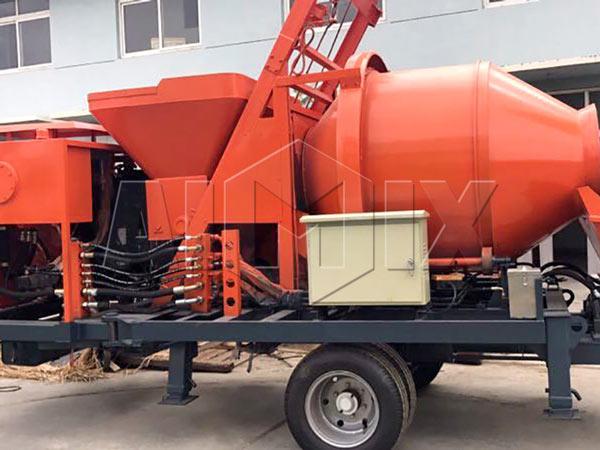 бетоносмеситель с насосом цена