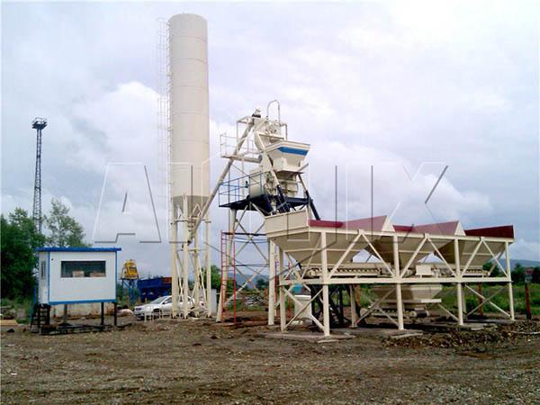 Маленький бетонный завод