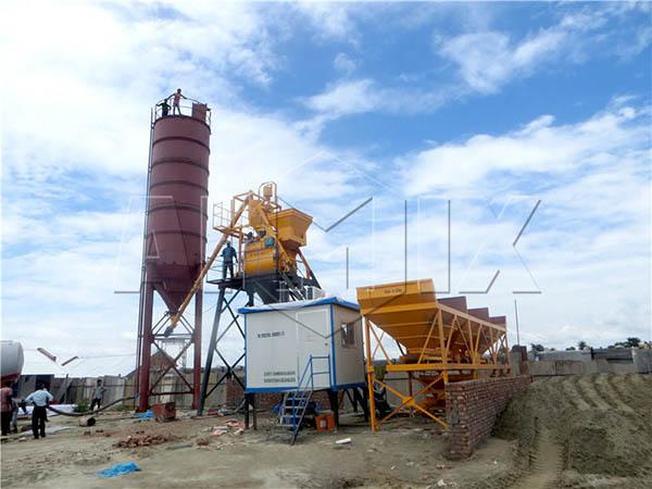 Небольшой бетонный завод