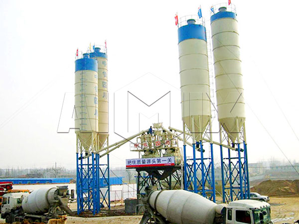 стационарная установка производства бетона