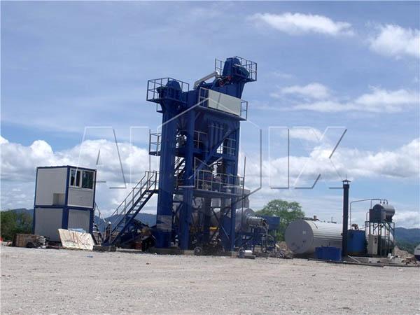 стационарный асфальтобетонный завод для продажи