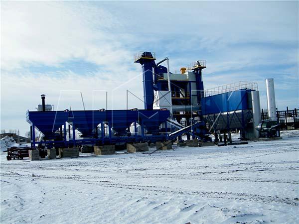 стационарный асфальтовый завод