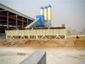 Стационарный бетонный завод