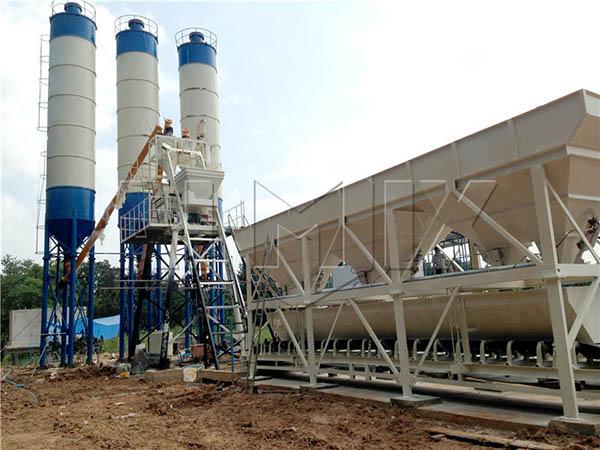 Стационарный бетонный завод купить