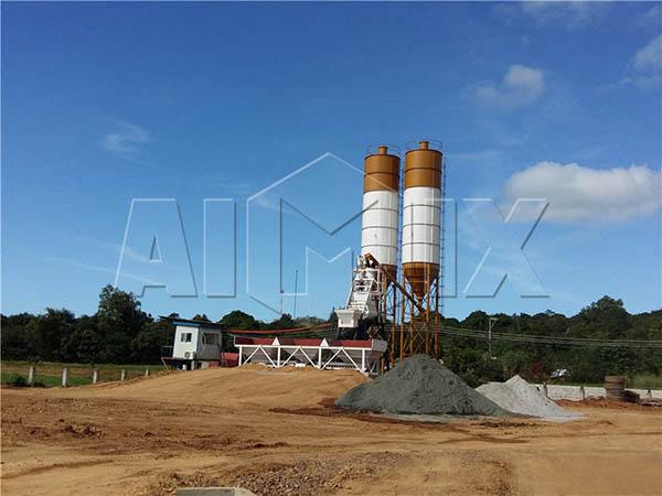Стационарный завод по производству бетона