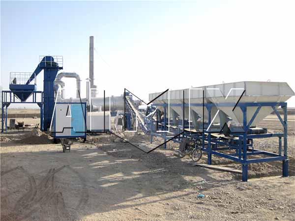 DHB60 завод по производству асфальта Узбекистан для продажи