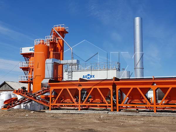 LB1000 асфальтосмесительная установка из компании Aimix на Россию