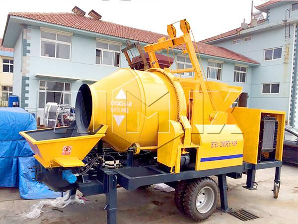 бетономешалка с насосом цена из Китая на продаже