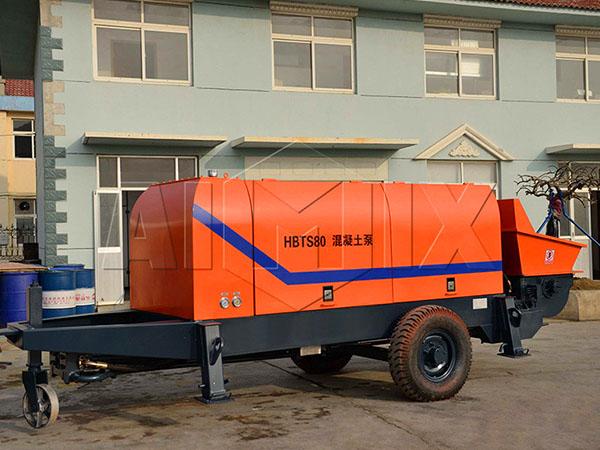 продажа стационарных бетононасосов на Узбекистан