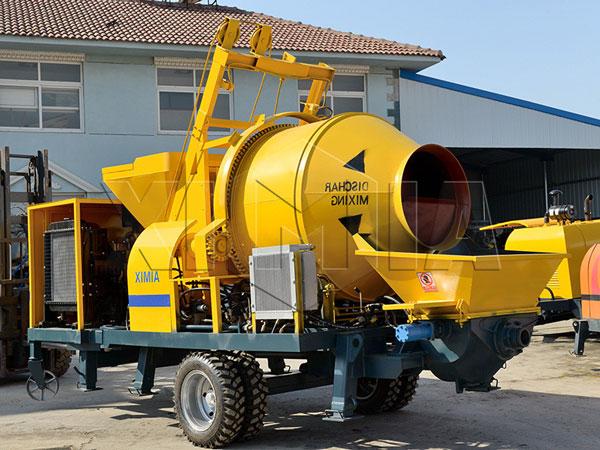 бетоносмеситель с насосом 40 м3 для продажи