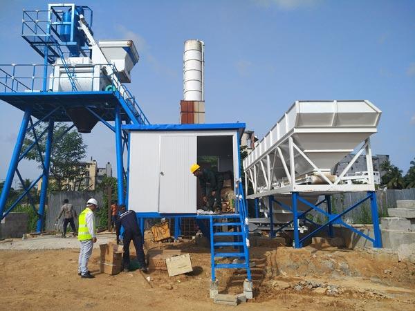 Aimix бетонный завод HZS50 нап