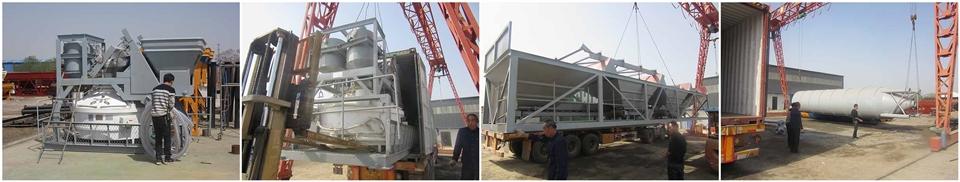Бетонный завод 25 м3/ч из Китая был отправлен в Испанию