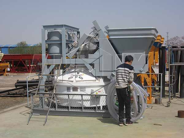 вертикальный бетоносмеситель - Бетонный завод 25 м3/ч