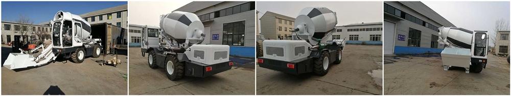 Бетоносмеситель с самозагрузкой китай 3.5 кубов был транспортирован на Малави
