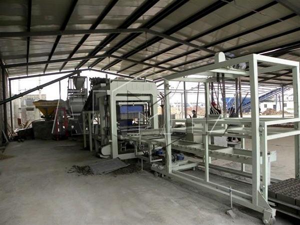 оборудование для производства кирпичей