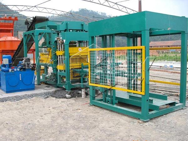 QT8-15 линия для производства блоков